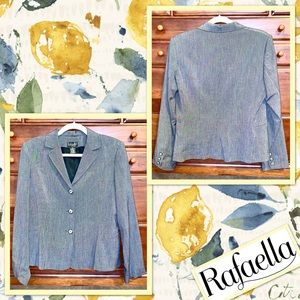 🌻 Vintage Rafaella Petites Blazer in Grey 🌻